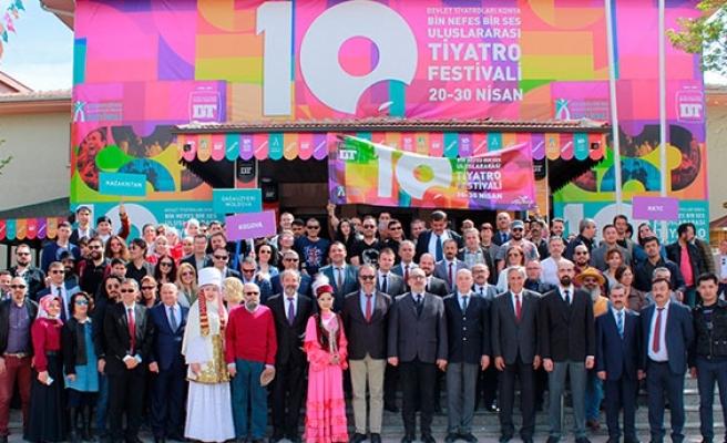 Konya Bin Nefes Bir Ses Uluslararası Tiyatro Festivali
