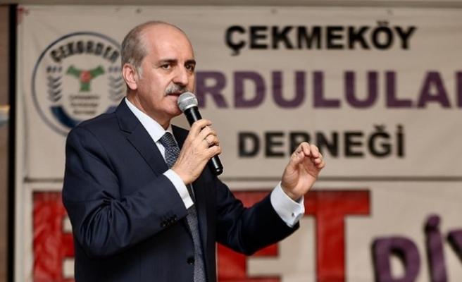 Kurtulmuş: Milletin ihtiyacı olduğu için anayasayı değiştirmek mecburiyetindeyiz