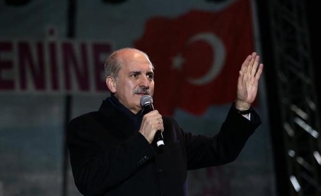 Kurtulmuş: Referandum küçük Türkiye ile büyük Türkiye arasında bir seçim