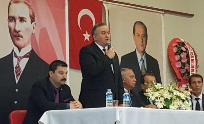 """MHP'li Akçay: """"İlke Ve Ülkülerimizden Sapma Yoktur"""""""