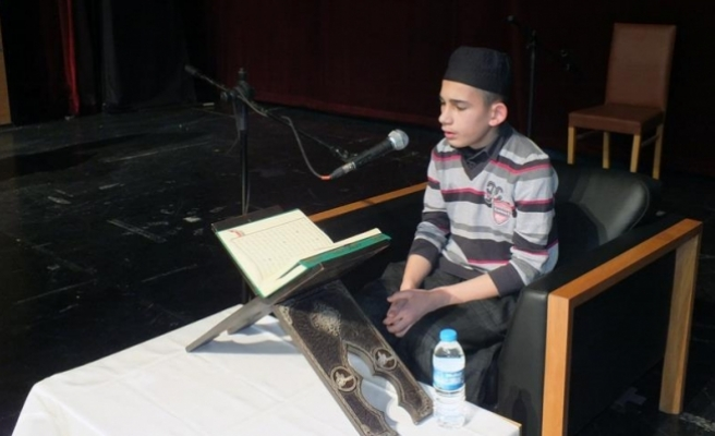 Sivas'ta Kur'an-ı Kerim'i güzel okuma yarışması