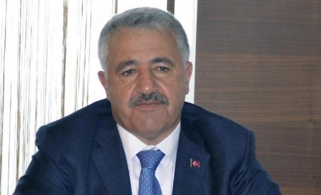 Ulaştırma, Denizcilik ve Haberleşme Bakanı Arslan: Horasan-Erzurum karayolunda 3 tünel yapılacak