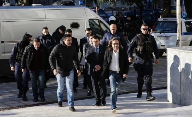 YunanistanTemyiz Mahkemesi Türkiye'nin 3 askerin iadesi talebini reddetti
