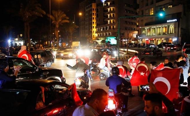 Yurt dışında en yüksek 'evet' oranı Lübnan'dan