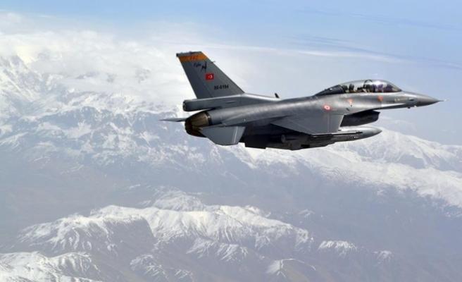 Zap bölgesine hava harekatı: 6 terörist etkisiz hale getirildi