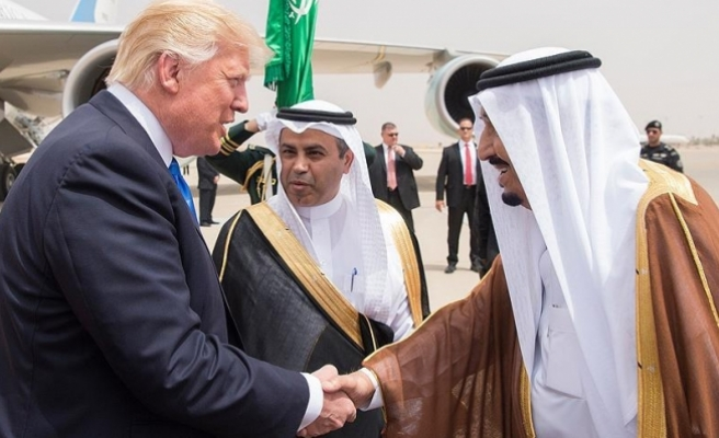 ABD Başkanı Trump Suudi Arabistan'da