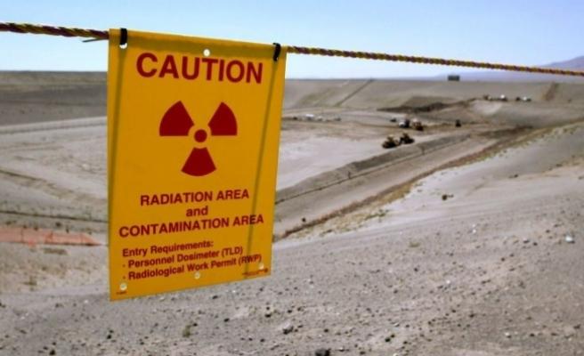 ABD'de nükleer atık tüneli çöktü