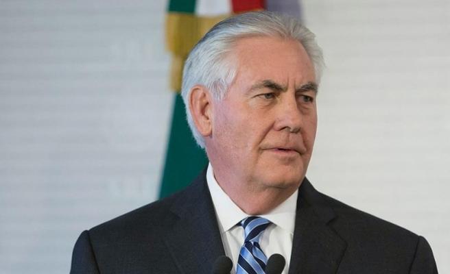 ABD Dışişleri Bakanı Tillerson Kuveyt'te