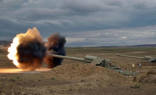 Kilis'in karşısındaki PYD hedefleri vuruldu