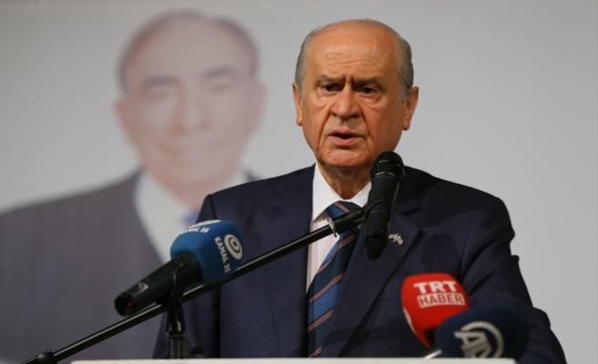 Bahçeli: Artık bu gecenin, bu zulmetin sonu gelmeli. Artık şafak Türk-İslam alemi için sökmeli