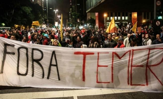 Brezilya devlet başkanına 'adaleti engelleme' suçlaması