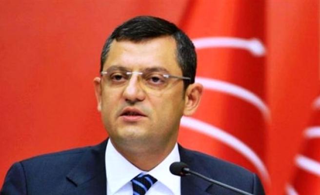 CHP Grup Başkanvekili Özel: Yarın belgelerin çıkışını izleyeceksiniz