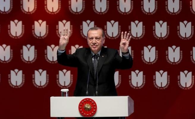 Erdoğan: Bu millete en büyük zulmü yasakçı jakobenler yaptı
