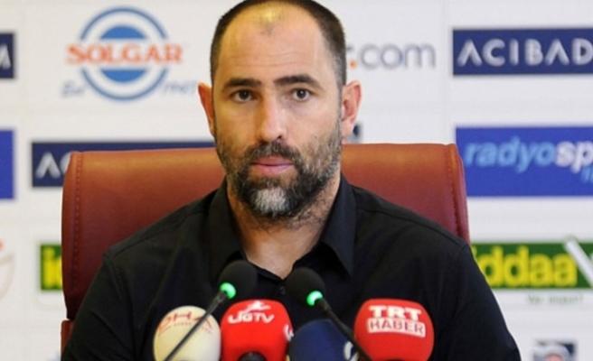 """Galatasaray Teknik Direktörü Igor Tudor: """"Kazanmayı hak eden bir Galatasaray vardı"""""""