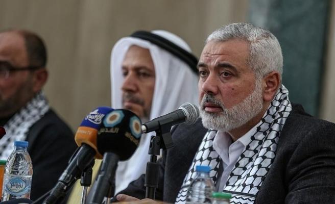 Hamas Siyasi Büro Başkanı Heniyye Fetih heyetiyle görüştü
