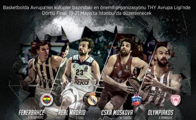 İstanbul'da Dörtlü Final heyecanı başlıyor