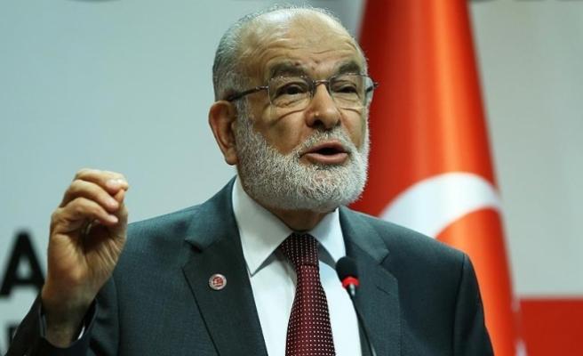 Saadet Partisi Genel Başkanı Karamollaoğlu'ndan 'Cumhurbaşkanı adayı' açıklaması