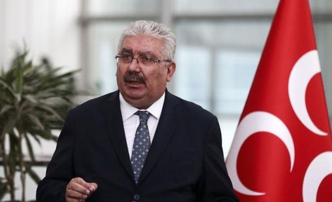 MHP'li Yalçın: CHP'li Özgür Özel'in bugünkü açıklaması yalandır