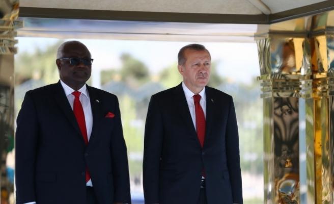 Sierra Leone Cumhurbaşkanı Koroma, Türkiye'de