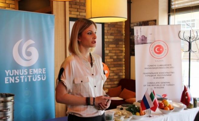 Tataristan'da zeytinyağlı Türk yemekleri tanıtıldı