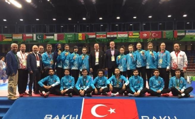Tekvando Milli Takımı, İslami Dayanışma Oyunları'nı 11 madalya ile tamamladı