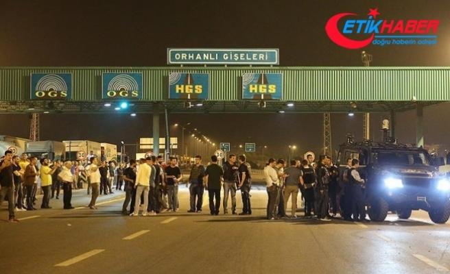 15 Temmuz'da Tuzla Orhanlı gişelerinde yaşananlarla ilgili iddianame