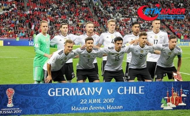 2017 FIFA Konfederasyonlar Kupası'nda Almanya, finalde Şili'nin rakibi oldu