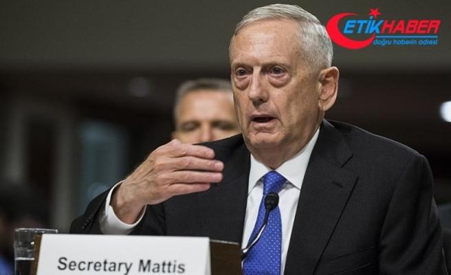 ABD'li bakan YPG'ye verilen silahlarla ilgili bilgi verdi