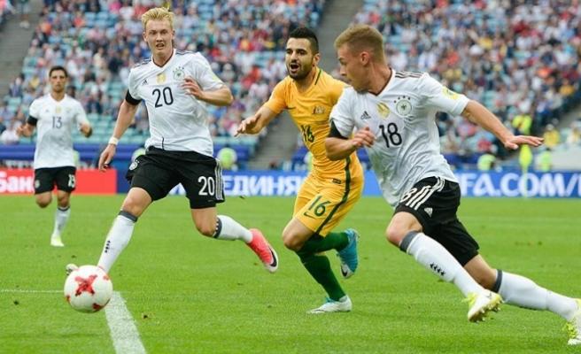 Almanya, Avustralya'yı 3-2 yendi