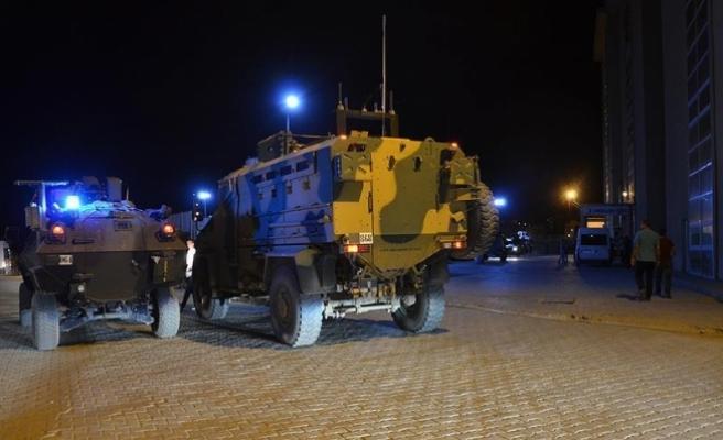 Askeri konvoya roketatarlı saldırı: 1 şehit, 6 yaralı