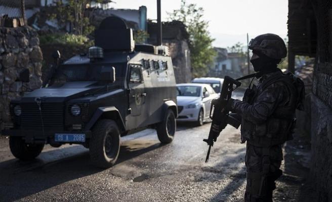Gaziantep'te bombalı saldırı hazırlığındaki 8 terörist yakalandı