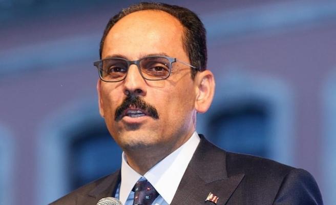 Cumhurbaşkanlığı Sözcüsü ve Genel Sekreteri Kalın: Kudüs hepimizin onuru, şerefi ve ortak davasıdır