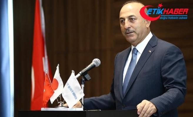 Dışişleri Bakanı Çavuşoğlu: FETÖ Japonya'da da çok aktif ve büyük tehdit oluşturuyor