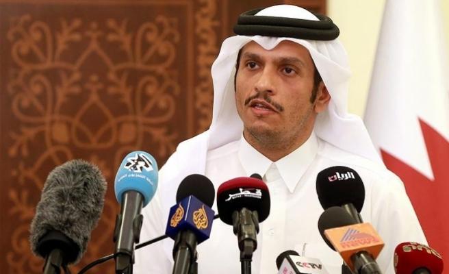 """Katar: """"Abluka kalkmadan diyalog görüşmeleri olmayacak"""""""