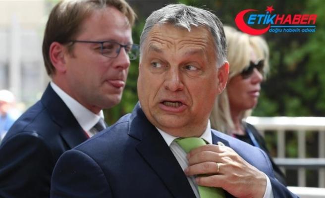 Macaristan Başbakanı Orban Ankara'da