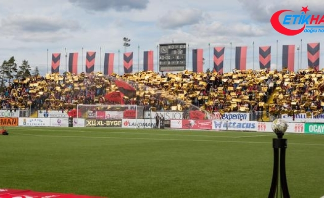 Östersunds'tan Galatasaray'a Türkçe mesaj