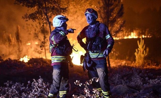 Portekiz'deki orman yangınında ölü sayısı 63'e yükseldi