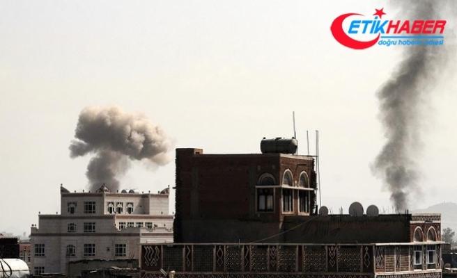Suudi Arabistan bomba yağdırdı!