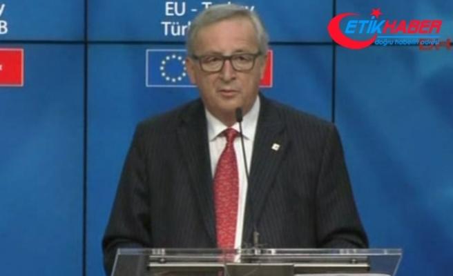 AB Komisyonu Başkanı Juncker'den Türkiye mesajı