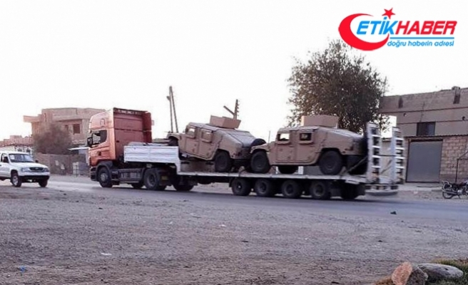 ABD'den terör örgütü PKK/PYD'ye askeri sevkiyat sürüyor