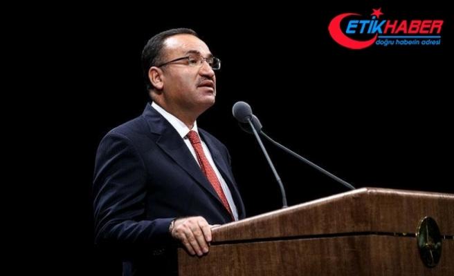Adalet Bakanı Bozdağ: Darbenin ve darbecilerin defterini Türk halkı dürmüştür