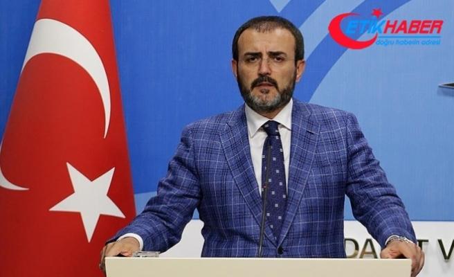 AKP'li Ünal: CHP iftiralarla gündemi işgal etmesin