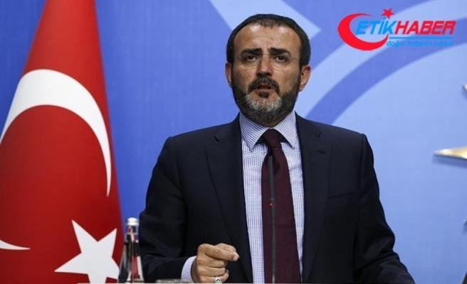 AKP'li Ünal: CHP Wesley Sneijder'in hassasiyetini dahi gösterememiştir