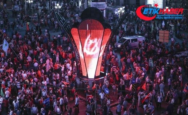 """Ankara'daki """"Milli Birlik Yürüyüşü"""" TBMM'ye ulaştı"""