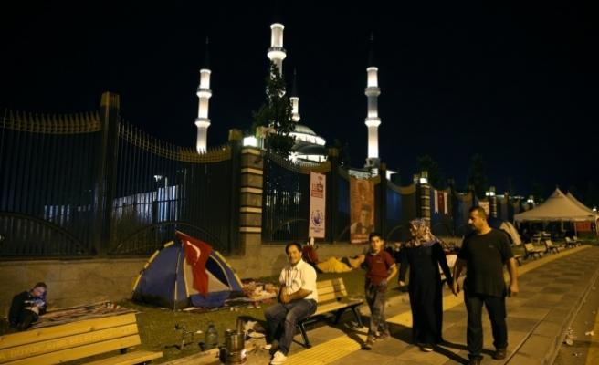 """Başkentte """"Demokrasi Nöbeti"""" hazırlıklarında sona gelindi"""
