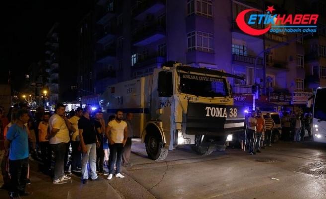 Başkentte sığınmacılar ile semt sakinleri arasında gerginlik