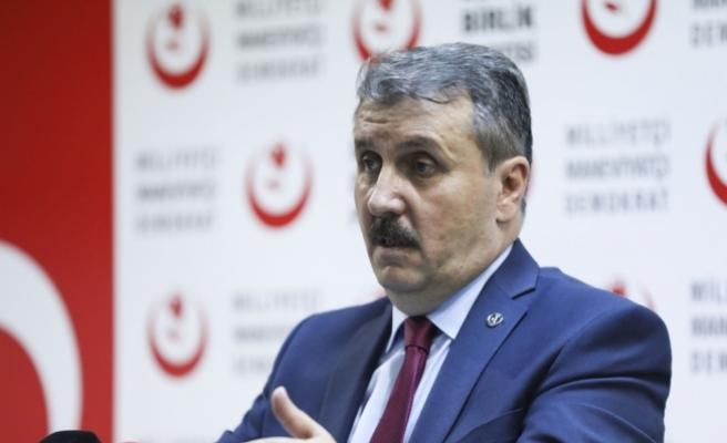 Destici: MGK kararları açıklandığında gördük ki Afrin'e bir operasyon hazırlığı var