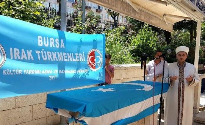 Bursa'da, öldürülen Türkmenler için gıyabi cenaze namazı