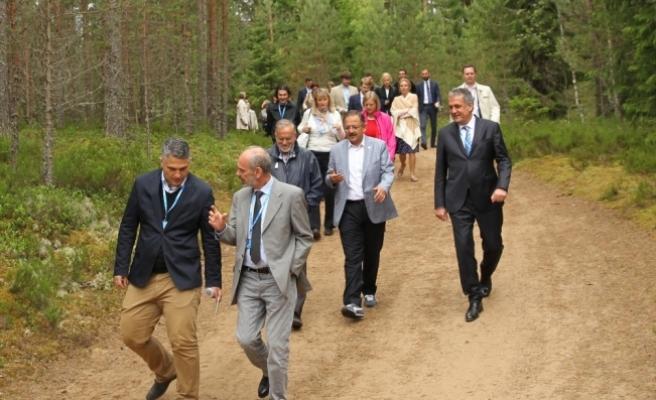 Çevre ve Şehircilik Bakanı Özhaseki Estonya'da