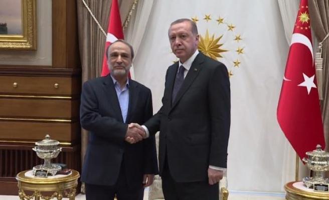 Cumhurbaşkanı Erdoğan Libya Devlet Yüksek Konseyi Başkanı Suveyhili ile görüştü